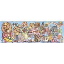 Művész puzzle - Királyi szülinap, 100 db-os - King party- DJECO