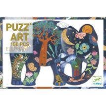 Művész puzzle - Elefánt, 150 db-os- DJECO