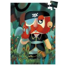 Mini puzzle -  Papagáj Sam, 60 db-os - Sam Parrot- DJECO