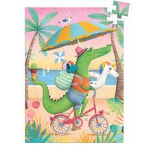 Mini puzzle - Coco beach, 60 db-os- DJECO