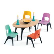 Az ebédlő - The dinning room- DJECO