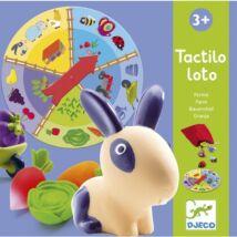 Fejlesztő társasjáték - Tapintható képeslottó - Tactilo lotto, farm- DJECO
