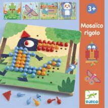 Pötyi mozaik - Vadállatok - Mosaico Rigolo- DJECO