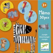 Memóriajáték - Dzsungel - Jungle- DJECO
