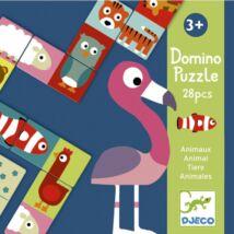 Kétfeles Domino - Animo-puzzle- DJECO
