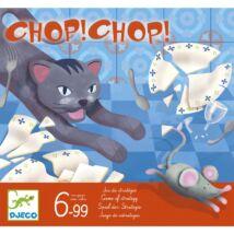 Társasjáték - Macska-egér játék - Chop Chop- DJECO