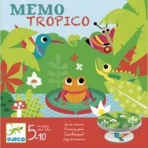 Társasjáték - Esőerdő - Mémo Tropico- DJECO