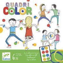 Társasjáték - Színérintő - Quadricolor- DJECO