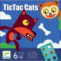 Társasjáték - Tiki-taki macskák - TicTacCats- DJECO