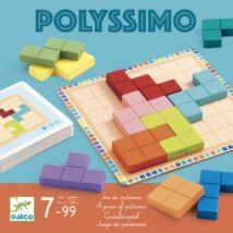 Logikai játék - Tetris négyzetkirakó - Polyssimo- DJECO