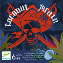 Társasjáték - Kókusz kalóz - Coconut Pirate- DJECO