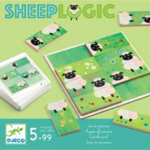Képkirakó játék - Birka-logika - Sheep logics- DJECO