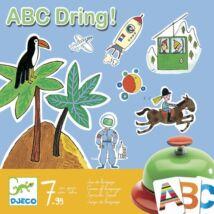 Társasjáték - Csingi-lingi ABC - ABC Dring - DJECO