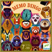 Társasjáték - Dingo memori - Memo Dingo Djeco