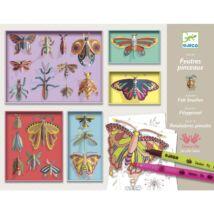 Művészeti műhely - Pillangó festés - Cabinet of curiosities- DJECO