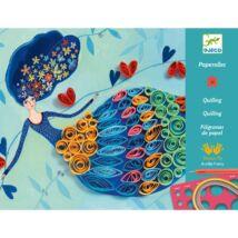 Művészeti műhely - Tavasztündér - Petticoat scrolls- DJECO