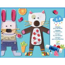 Kollázs műhely - Kicsiknek - Collages for little ones- DJECO