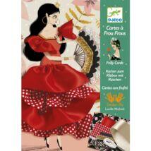 Varrás és díszítés - Táncosnő - Flamenco- DJECO
