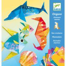 Origami - Tengeri élőlények - Sea creatures Djeco
