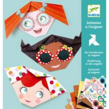 Origami - Kedves arcok - Pretty faces Djeco Design by