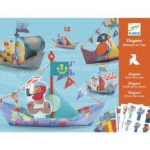 Origami - Papírcsónak - Floating boats- DJECO