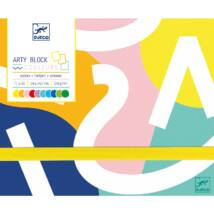 Arty block - Colored paper- DJECO