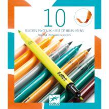 Ecsetfilc készlet -10 kiegészítő szín - Tertiary colors- DJECO