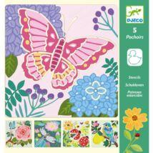 Rajzsablonok - Kerti szárnyak - Garden wings Djeco Design by