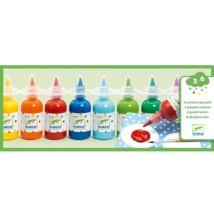 Gouache festék - Folyékony, 8 szín - Gouache- DJECO