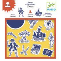 Nyomdakészlet - Kalózok - Pirates- DJECO