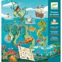 Matricás meseszövés - Kalandok a tengeren - Adventures at sea Djeco Design by