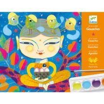 Művészeti műhely, festés - Indiai hangulat - India- DJECO