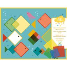 Mágikus négyzetek - Magic squares Djeco