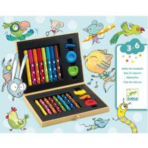 Kicsik színes készlete - Box of colours for toddlers