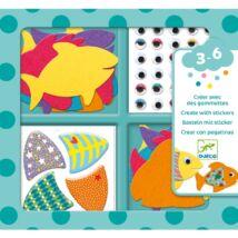 Matricázó képkészítő - Szeretem a halakat - I love fishes- DJECO