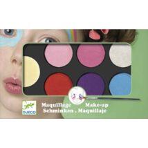 Arcfesték - Édes - Palette 6 colours - Sweet- DJECO