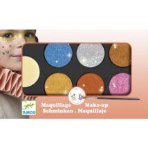 Arcfesték - 6 színű, metál fényű - Palette 6 colours - Metallic- DJECO