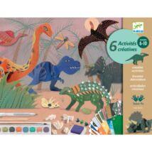 The world of dinosaurs Djeco