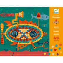 Művészeti műhely - Menő járművek mozaik készlet - Ace at the wheel Djeco Design by