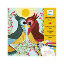 Írisz papírhajtogatás - Madarak - Bird- DJECO