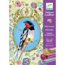 Csillámkép készítő - Csillogó madarak - Glitter birds- DJECO
