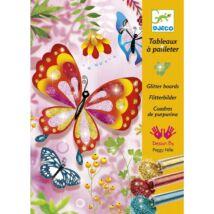Csillámkép készítő - Pillangók - Butterflies- DJECO