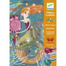 Csillámkép készítő - Sellők - Mermaids- DJECO