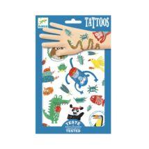 Tetováló matricák - Jópofák - Snouts- DJECO