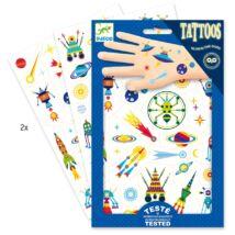 Tetováló matricák - Égi furcsaságok - Space oddity- DJECO