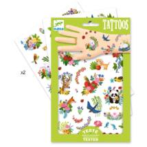 Tetováló matricák - Boldog tavasz - Happy spring- DJECO