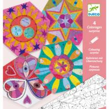 Origami mandalák - Együttállások - Constellation mandalas Djeco Design by