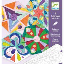 Origami mandalák - Rozetta mandalák - Rosette mandalas Djeco Design by