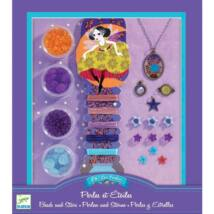 Ékszerkészító készlet - Gyöngyök és csillagok - Pearls and stars- DJECO