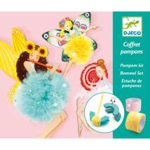 Pompom készítő - Pompom tündérek - Fairy Pompoms Djeco Design by